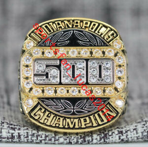 2021 Indianapolis Indy Speedway 500 105th Running Championship Ring 7-15Size