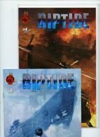 Riptide #3 and #4 Red 5 Comics Lot of 2 Books