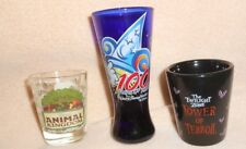 DISNEY SHOT GLASS MIXED LOT OF 3