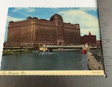 Vintage Postcard The Merchandise Mart Chicago Illinois Commercial Building