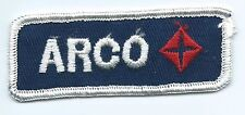 Arco Gas & Oil employee/driver patch 1-3/8 X 3-1/2 #129