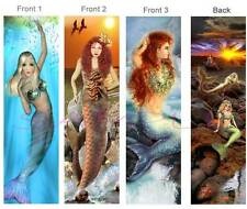 3 Lot-MERMAID BOOKMARKS Book Mark Card Figurine Ornament ART SEA Ocean Mythical