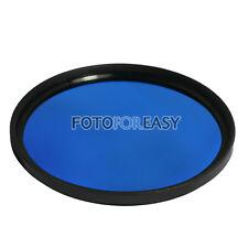 77mm Blue Color Conversion Lens filter For Digital DSLR SLR Camera 77