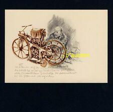 DAS ERSTE MOTORRAD DER WELT / FIRST MOTORBIKE * GOTTLIEB DAIMLER * LISKA-AK 1953