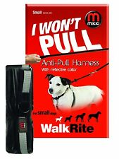 Mikki Walkright Anti-pull Harness With Reflective Collar Size Large