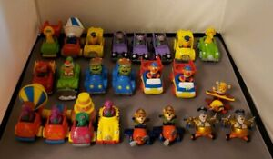 23 Collection Diecast Character Toy Cars Sesame Street Disney Tailspin Barney