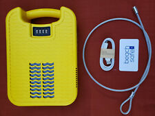 Beachsafe Portable Safebox with Built-in Cellphone Charger and LED light