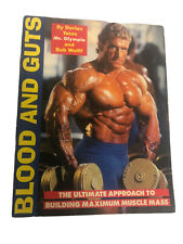 Blood And Guts The Ultimate Approach To Building Max Muscle SIGNED Dorian Yates