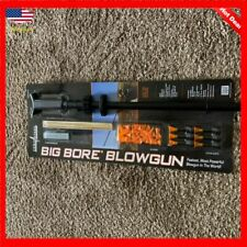 Cold Steel Blowgun Big Bore 4 FT .625 Aluminum Blow Gun 20 Yard Range 36 Darts