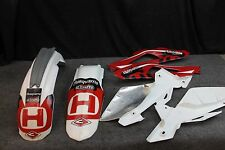2006 Husqvarna Husky Cr 125 Cr125 Plastics Fenders Side Plates Body 06