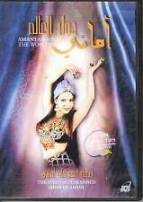 AMANI Around the World DVD belly dance folkloric Middle Eastern