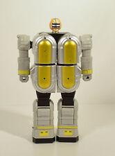 "1996 Yellow & Gray Grey Zord Megazord 6"" Bandai Action Figure Power Rangers Zeo"