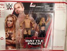 WWE action figure Battle Pack Series 53 Carmella James Ellsworth New Fabulous