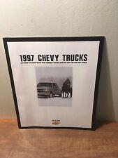 1997 Chevrolet Chevy Trucks S-10 Blazer Venture Astro Van Dealer Brochure