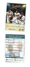 2014 BOWIE BAYSOX POCKET SCHEDULE