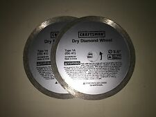 2 NEW Craftsman 1A Diamond Wheels Dremel SawMax RotoZip SpiralSaw FREE SHIPPING