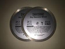 2 NEW Craftsman 1A Diamond Wheels Dremel SawMax RotoZip SpiralSaw FREE SHIPPING