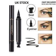 Winged Wing Eyeliner Stamp Thick or Thin Black Vamp Cat Eye UK SELLER