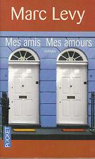 Livre de Poche mes amis mes amours  Marc Lévy  book