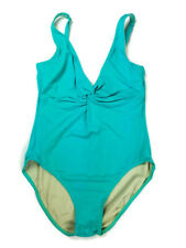 39c1e80c612a7 Coco Reef Bathing Suit Swim Maillot One Piece Size Large Turquoise Blue  Green