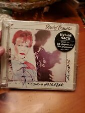 Scary Monsters by David Bowie (CD, Emi) Hybrid  SACD Super Audio CD Sealed