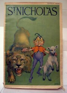 St Nicholas Magazine Summer Camps for Boys and Girls vintage March 1926