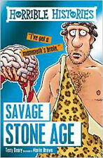 Savage Stone Age (Horrible Histories), New, Brown, Martin, Deary, Terry Book