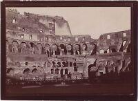 Roma Foto Roma Italia amatore Viaggio in Italia 1898 Vintage citrato