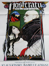 NOSFERATU THE VAMPYRE 1979 * KLAUS KINSKI * SEXY VAMPIRE 1 SHEET * MINT UNUSED!!