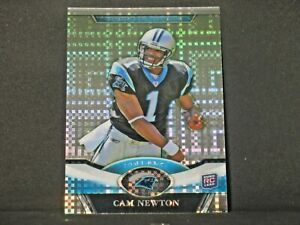 Cam Newton 2011 Topps Platinum Xfractor Rookie #1 New England Patriots Panthers