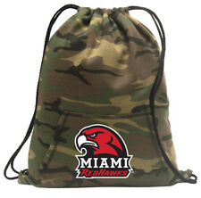 Miami University Cinch Pack Backpack COOL CAMO Miami RedHawks Bags