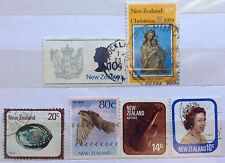 New Zealand Used Stamps - 6 pcs Assosrted Stamps