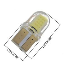 New T10 194 168 W5W COB 8SMD LED CANBUS Silica Bright White License Light Bulbs