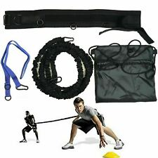 Rly Acceleration Trainer Rugby Belt with Bungee Resistance Band Training 80Lb