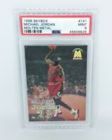 1998-99 Skybox Molten Metal #141 Michael Jordan PSA MINT 9 Chicago Bulls HOF