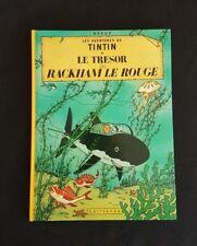 Tintin - Le Trésor de Rackham le Rouge - C5 -  1984 - État proche du neuf!!!