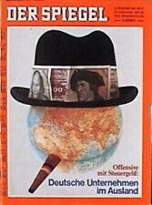 SPIEGEL 51/1969 Die Auslandsinvestitionen deutscher Unternehmen