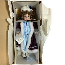 Marie Osmond Bryanna Doll in Skates 1995 Christmas Ltd Ed Series