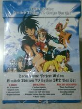 Escaflowne-Perfect Vision Limited Edition TV Series Box Set 8-Disc + Action Fig