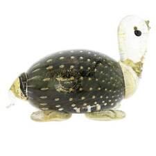 GlassOfVenice Murano Glass Bullicante Turtle - Black