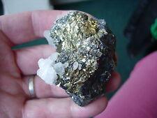 calcite-pyrite-zinc & galena from Trepka mine in kosova no 4