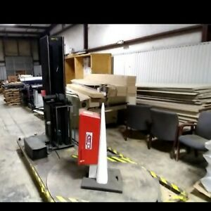 """pallet shrink wrap machine. Condition is """"Used"""". It does work."""