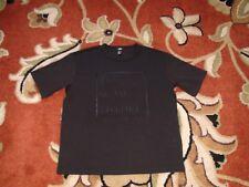 Men's H&M Premium Long Length Shirt Size Large Black The New Future Conscious