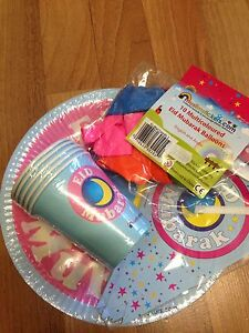 eid party decorations balloons cups plates