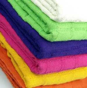 Colcha/Foulard multiusos sofa o cama surtida de colores y medidas funda multiuso