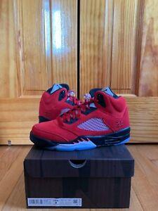 Jordan 5 Retro Raging Bull Red (2021) Brand New in Men's Sizes 8-10.5 DD0587-600