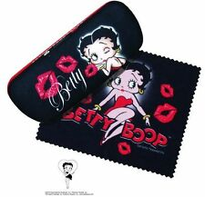 BETTY BOOP Eyeglass Case w/matching Microfiber Cleaning Cloth /