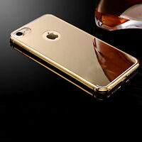 Luxury Aluminum Ultra-thin Mirror Metal Back Case Cover For Various Mobile Phone
