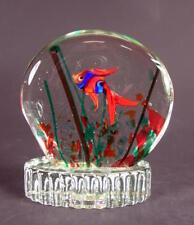 schönes Sockel Aquarium - Murano Glas