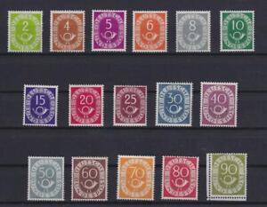Bund 123-38 Posthornsatz ungebraucht komplett (ht21)